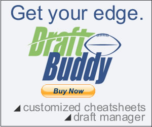 Draft Buddy - Fantasy Football excel draft software